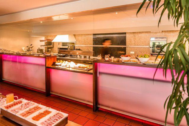 Offen und ehrlich: die Shohküche des Restaurants; Foto: Hidalgo