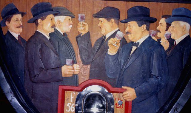Im großen Weinfuder Keller St. Michael, Foto: Albin Thöni